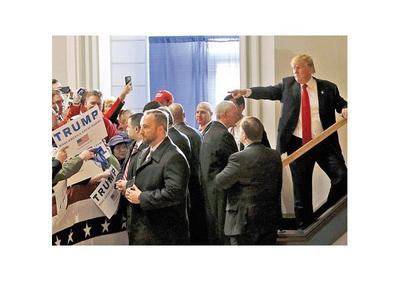 Trump dice que es difícil que le puedan sacar votos