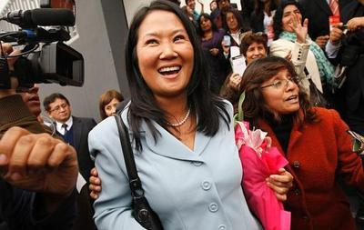 Keiko Fujimori lidera las encuestas en Perú, pero pierde intención de voto