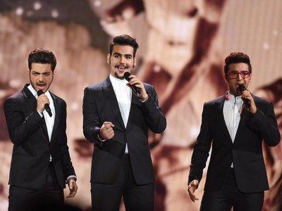 Trío italiano Il Volo dará show en la Conmebol