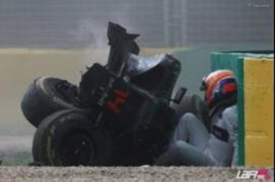 HOY / Sufre lesiones internas y no corre en Bahréin
