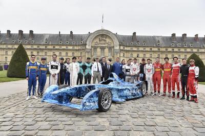 París acoge su primera carrera de la Fórmula E