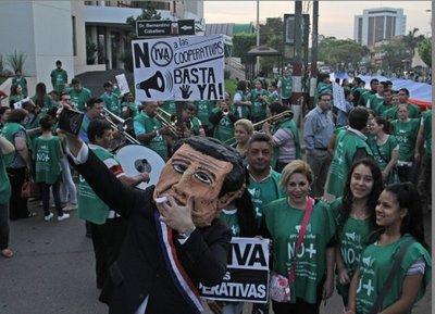 Cooperativistas insistirán en eliminar el IVA