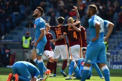 Roma anticipa el título de Juventus