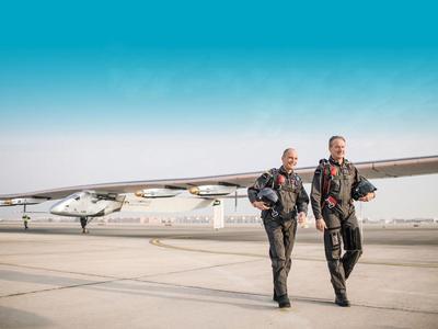 Solar Impulse aterriza en Arizona y cierra 10ª etapa de su viaje