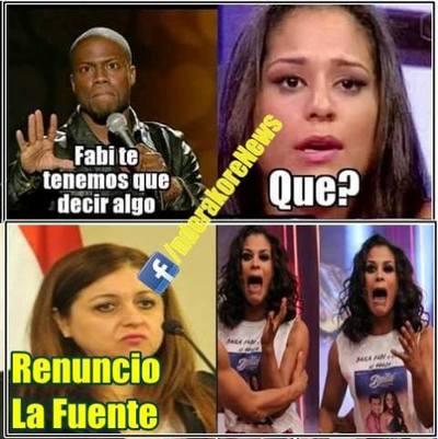 Fabi Martínez Volvió A Ser Protagonista De Un Meme