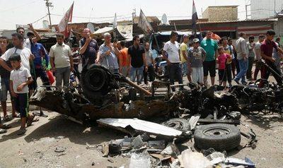 Ataque de ISIS deja 94 muertos en Bagdad