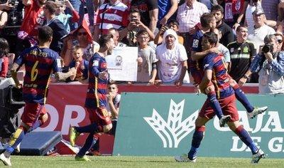 Barcelona grita campeón en España