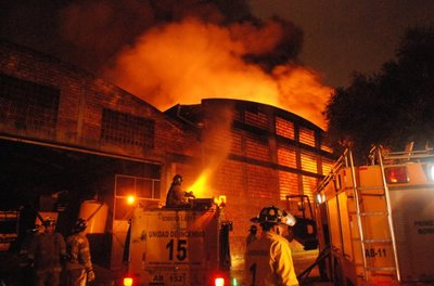 Pérdidas tras incendio de Copalsa fueron multimillonarias