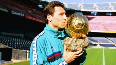 """Stoichkov será nombrado """"Campeón del Deporte de la Unesco"""""""