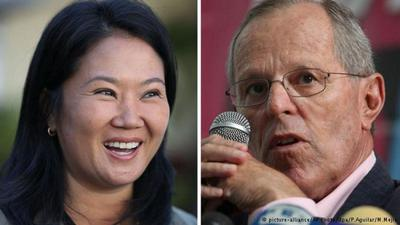 Fujimori y Kuczynski llegan empatados al balotaje en Perú