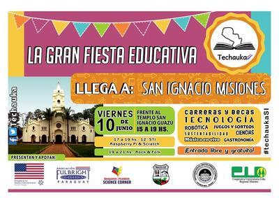 "Feria ""Techauka Paraguay"" llega a San Ignacio, Misiones"