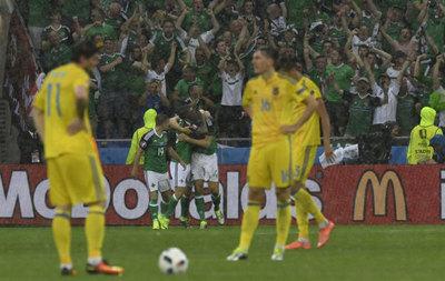 Irlanda consiguió su primera victoria en una Eurocopa