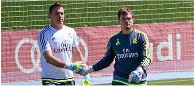 Vinculan a portero del Real Madrid con Cerro Porteño