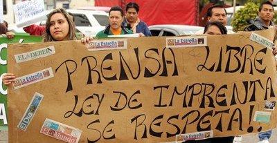 Bolivia: Denuncian ante ONU amenazas contra periodismo