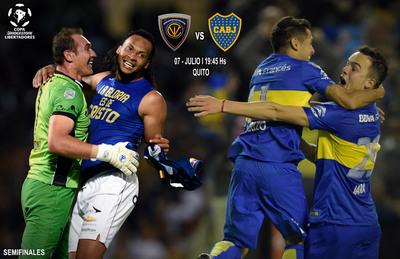 Independiente del Valle recibe a Boca en el segundo duelo de semifinal