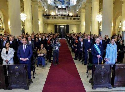 Argentina: Celebran acto religioso por 200 años de independencia