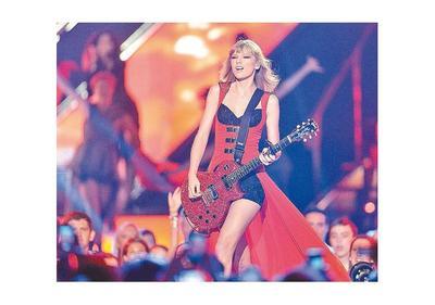 La cantante Taylor Swift es la artista mejor pagada del mundo, según Forbes
