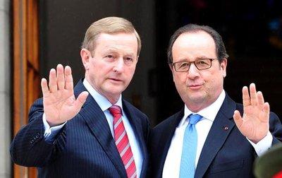 Irlanda y Francia piden la pronta salida de Londres de la UE