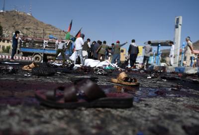 Atentado en Kabul: 61 muertos y más de 200 heridos