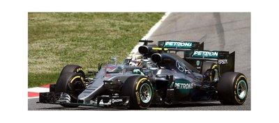 El choque entre Mercedes fue un incidente de carrera