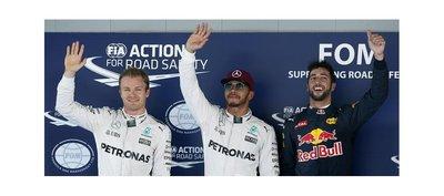Hamilton se lleva la pole del GP de España
