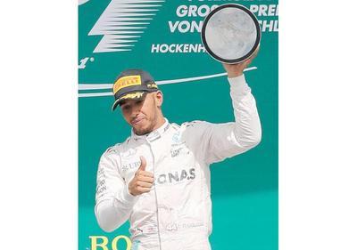 Hamilton triunfa en el Hockenheim