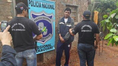 Incautan marihuana y crack en Yaguarón