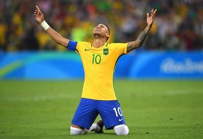 Brasil es oro por Neymar y la fiesta es sin fin