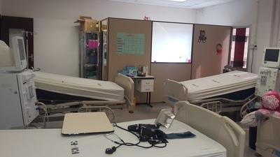 Clínicas adecua instalaciones para trasplantes renales pediátricos