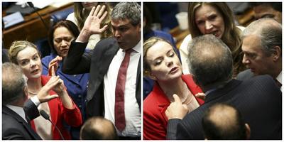 Declaran últimos testigos en favor de Rousseff