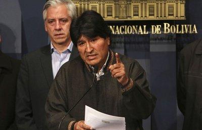 Se debilita la fuerza del gobierno de Morales