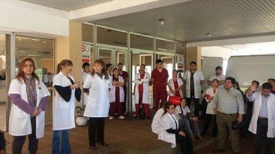 Pese al paro atención fue fluida en el Hospital Nacional