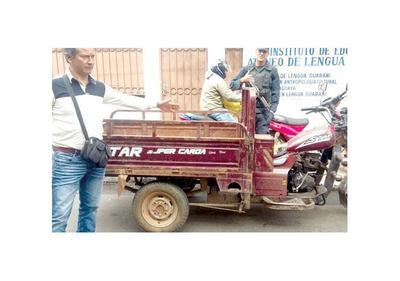 Buscado por caso de rapto y robo es detenido por policías