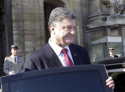 Petro Poroshenko, presidente de Ucrania