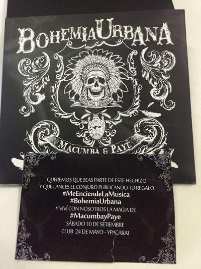 'Macumba y payé' de Bohemia Urbana verá la luz este sábado