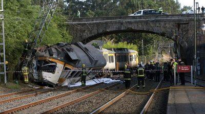 Se descarrila tren en España, hay muertos y heridos