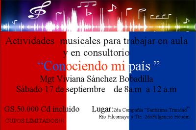 """""""Conociendo a mi país"""" a través de la música se lanza mañana"""