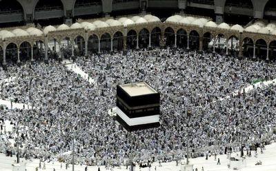 Musulmanes inician el haj, sin iraníes este año