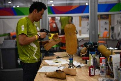 La tecnología paralímpica de última generación se exhibe en Rio