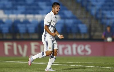 Sergio Díaz marca para el Real Madrid en Liga Juvenil