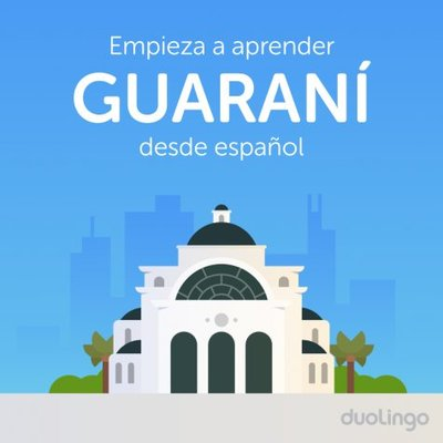 Ya se puede aprender guaraní con Duolingo
