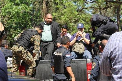 Concejal y abogados, presos por grafittis en Ciudad del Este
