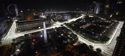 GP de Singapur (Libres): Verstappen, el más rápido.