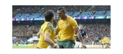 Australia acaba con el sueño de Escocia y se cita con los Pumas