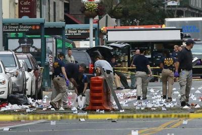 Cinco detenidos en investigación de explosión en NY