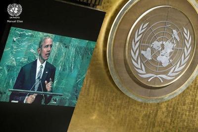 ONU: Obama se despidió con pedido de apoyo a Siria