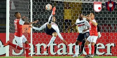Cerro Porteño cayó frente al Independiente Santa Fe por la Sudamericana
