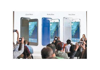 Google presentó Pixel, su nuevo celular para competir con Apple