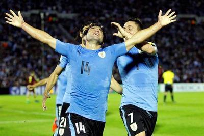 El puntero Uruguay no falló y se fortalece arriba