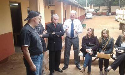"""Vicecónsul de EEUU visitó a """"Payo"""" Cubas"""